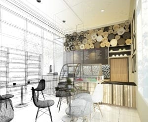 Commercial remodeling work in Dallas